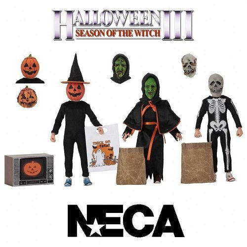 NECA Halloween III Season of the Witch - Silver Shamrock Trick-or-Treaters