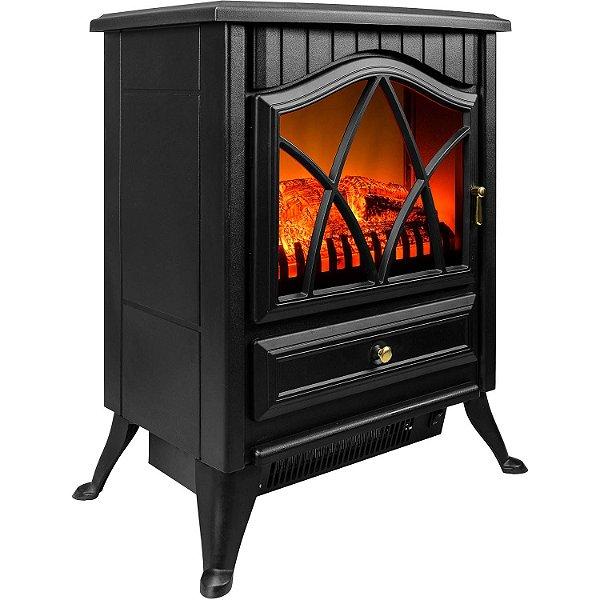 Lareira elétrica aquecedor 750W / 1500W 110v