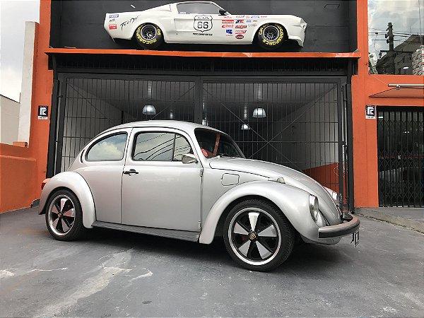 VW Fusca 1986 Prata 1800cc