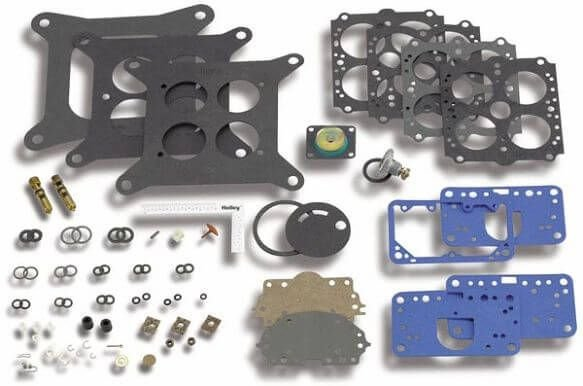 Kit de reparo carburador quadrijet Holley a vácuo