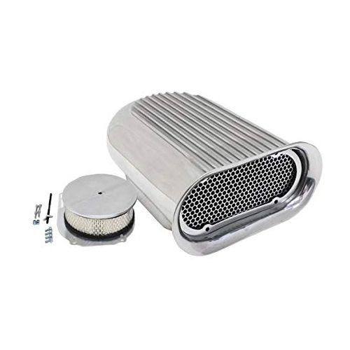 Scoop em alumínio modelo Hilborn com filtro de ar