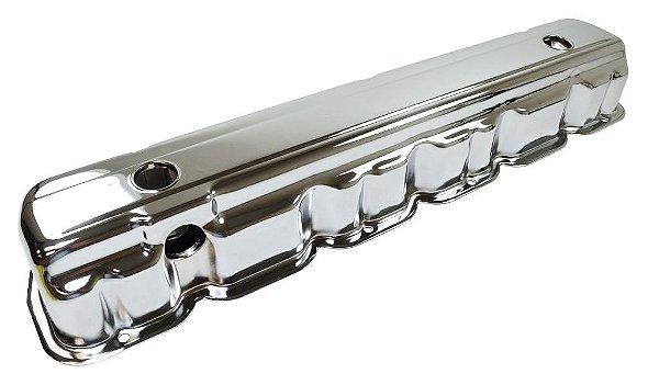 tampa de válvula Opala 6 cilindros cromada