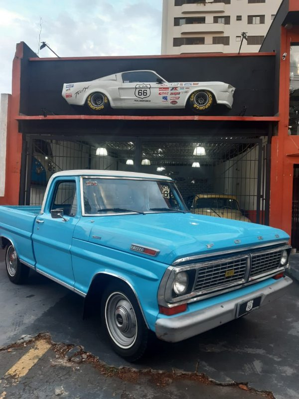 1978 Ford F100 2.3 OHC