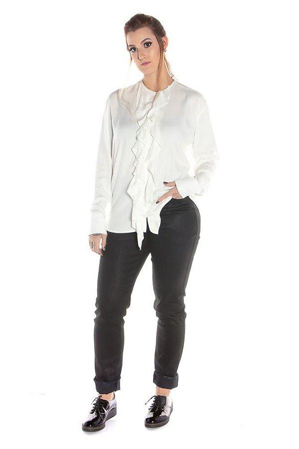 Camisa Ahoy - Branca