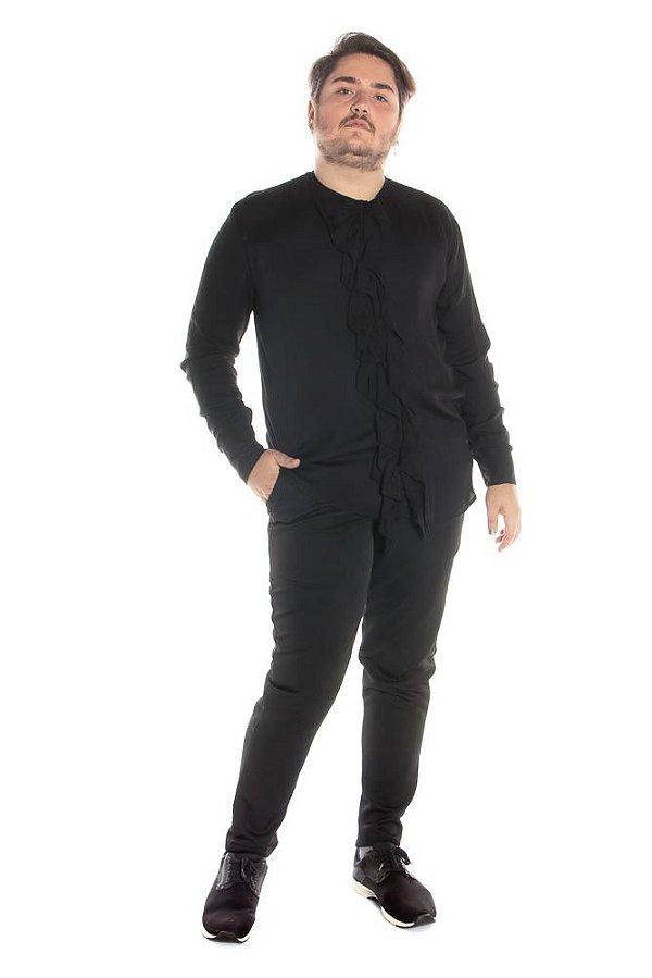 Camisa Ahoy - Preta