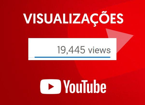 Visualizações em Vídeos no Youtube
