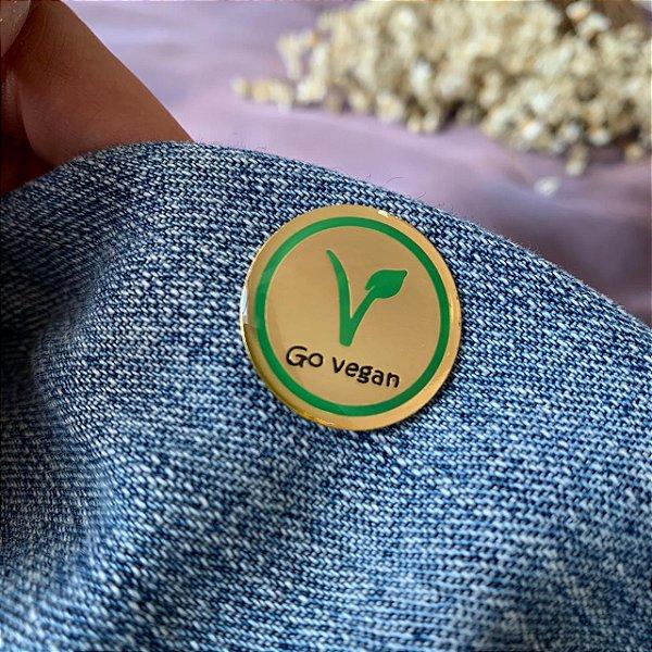 Pin go vegan