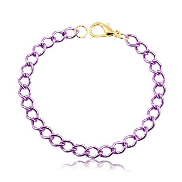 Corrente balãozinho para seu Pet cor violeta