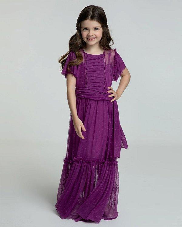 Saffron Vestido Kids