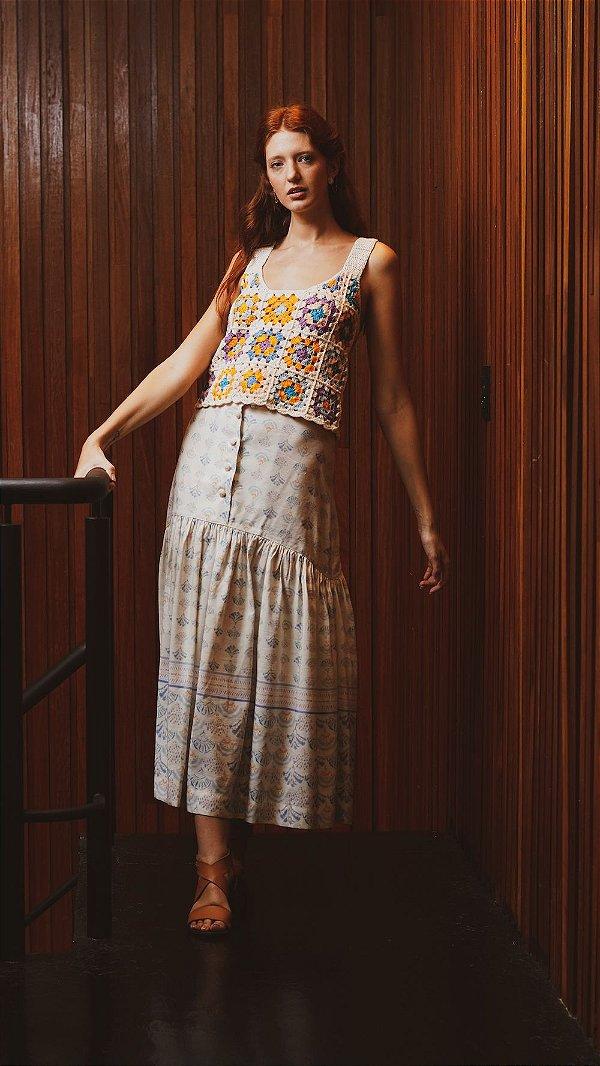 Mila Crochê Cropped Woman