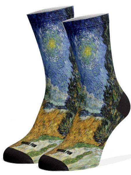 Meias Fun - Van Gogh