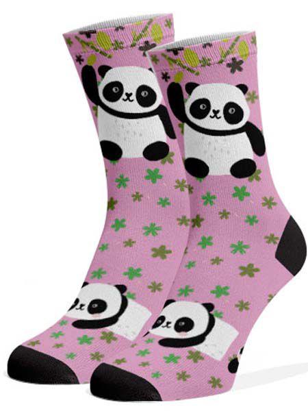Meias Fun - Panda