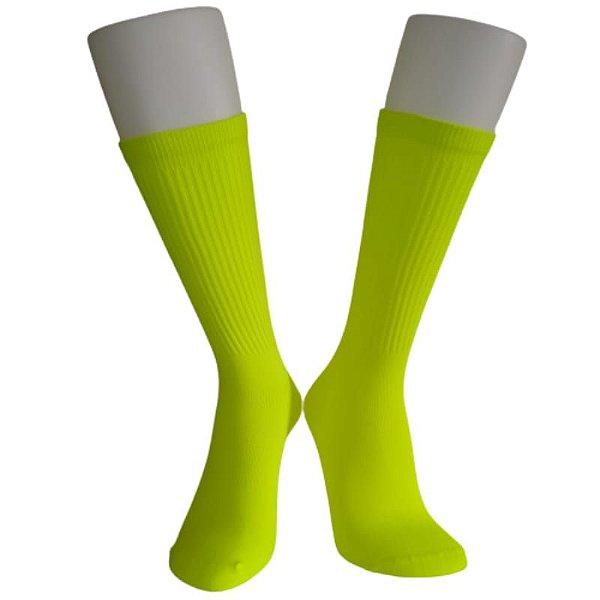 Meias Fun - Neon verde fluor elenca