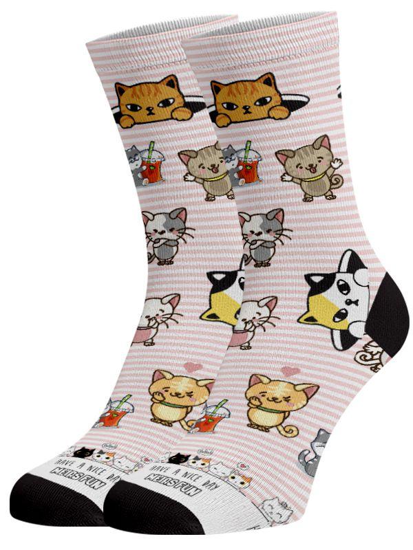 Meias Fun - Cats