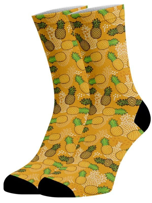 Meias Fun - Abacaxi Yellow