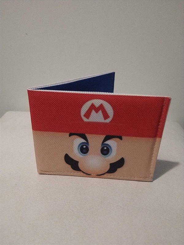 Carteira Fun Mario Bros