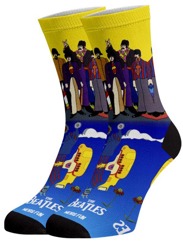 Meias Fun Yellow Submarine