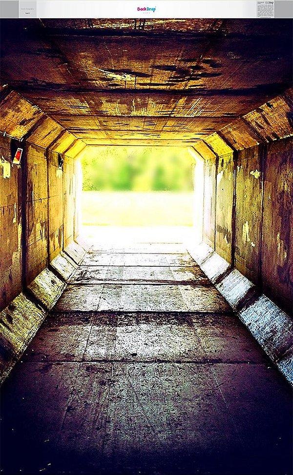 Fundo Fotografico - Tunel (1,60 x 2,60 metros)