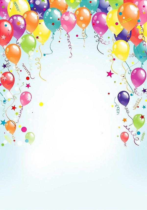 Fundo Fotografico - Balloon 2 (2 x 1,40 metros)