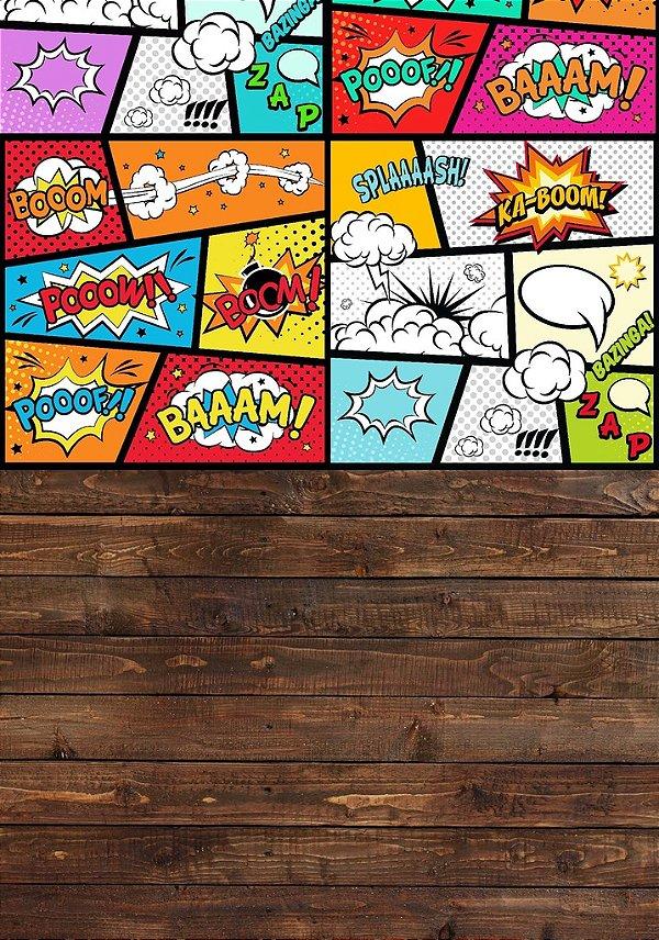 Fundo Fotografico - Cartoon Duplo (1,40 x 2 metros)