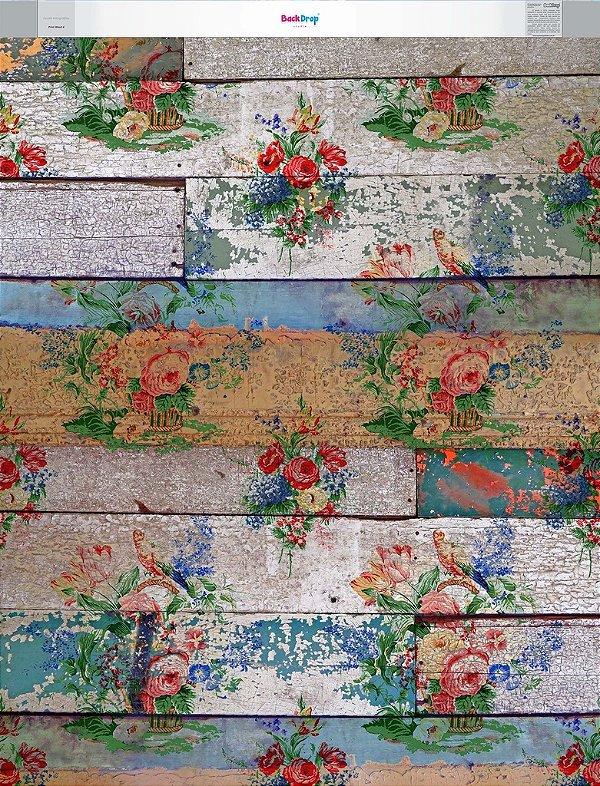 Fundo Fotografico - Print Wood 4 (1,60 x 2 metros)