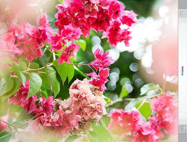 Fundo Fotografico - Floral Natural (1,50 x 2,10 metros)