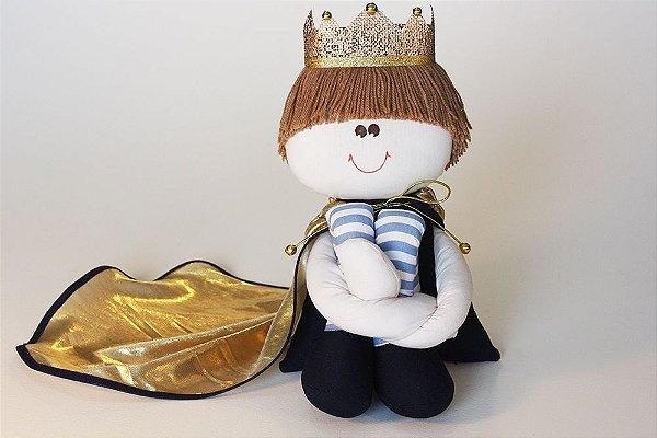 Príncipe Médio Azul Marinho