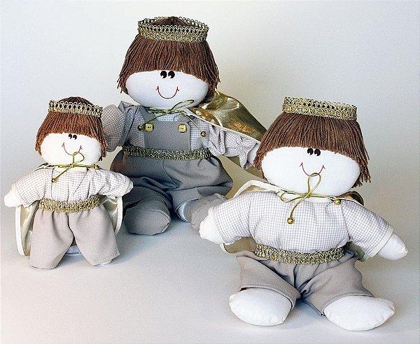 Kit 03 Peças: Príncipes Coleção Royal