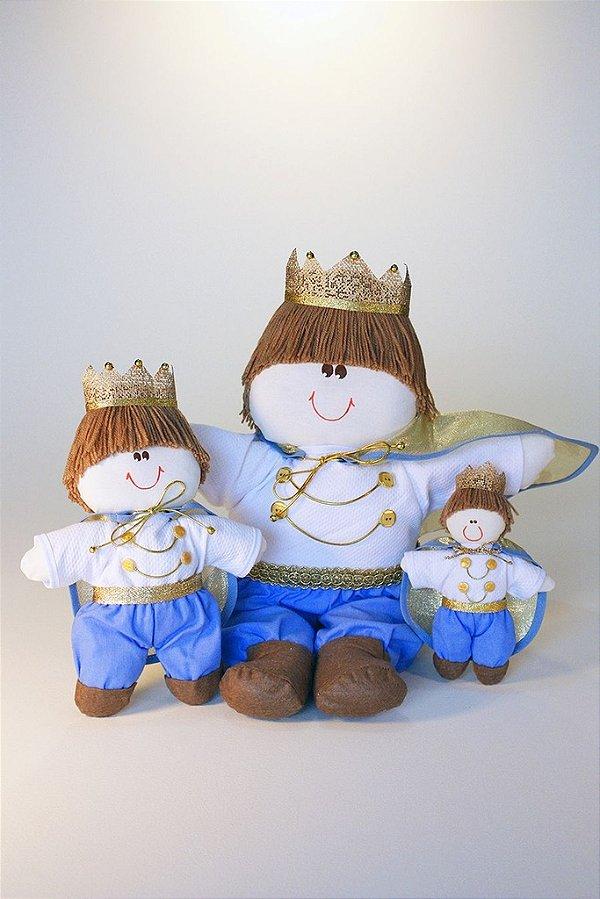 Kit Chá de Bebê Royal Reizinhos Lembrança E Decoração Lançamento
