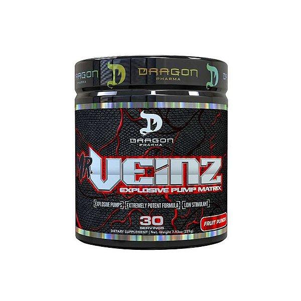 Pré-Treino  Mr. Veinz 30 Doses - Dragon Pharma