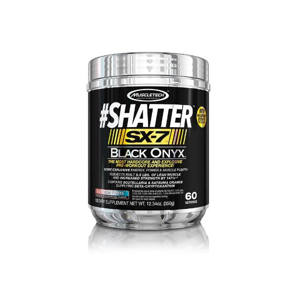 Pré-Treino Shatter SX7 Black Onyx 60 Doses -  MuscleTech