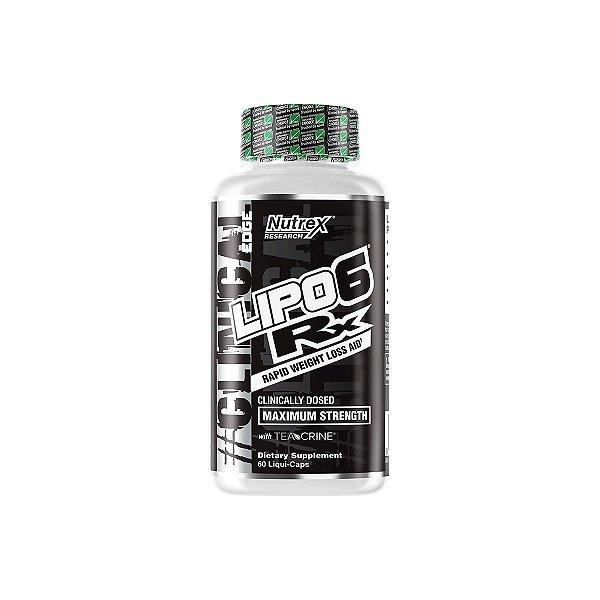 Termogênico Lipo 6 RX 60 Liquid Caps - Nutrex