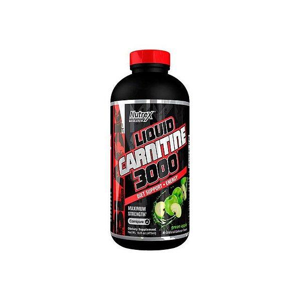 L-Carnitina Liquida  3000mg 473ml -Nutrex
