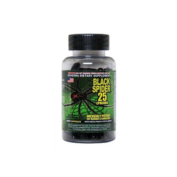 Termogênico  Black Spider 100 Caps - Cloma Pharma