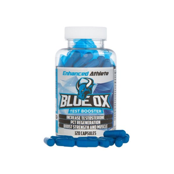 TPC Blue Ox PCT Test Booster 120 Caps - Enhanced Athlete