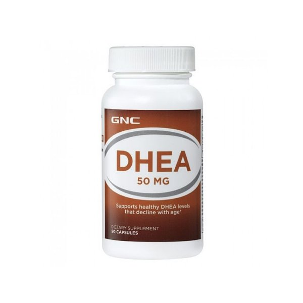DHEA  50mg Time Elease 90 Caps - GNC