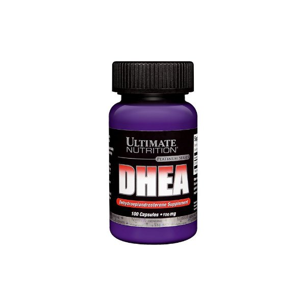 DHEA 100mg 100 Caps - Ultimate Nutrition