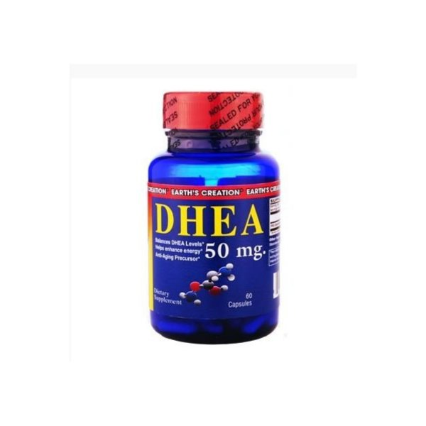 DHEA   50mg 60 Caps - Earth's Creation