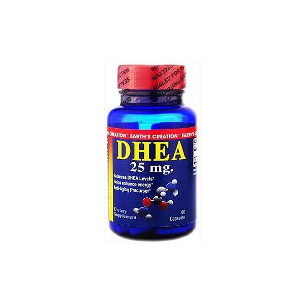 DHEA  25mg 60 Caps -  Earth's Creation