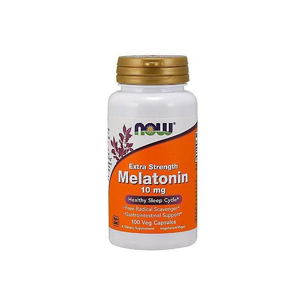 Melatonina 10mg 100 Caps - Now