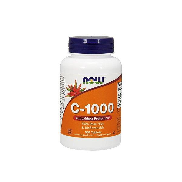 Vitamina C 1000mg 100tabs - Now