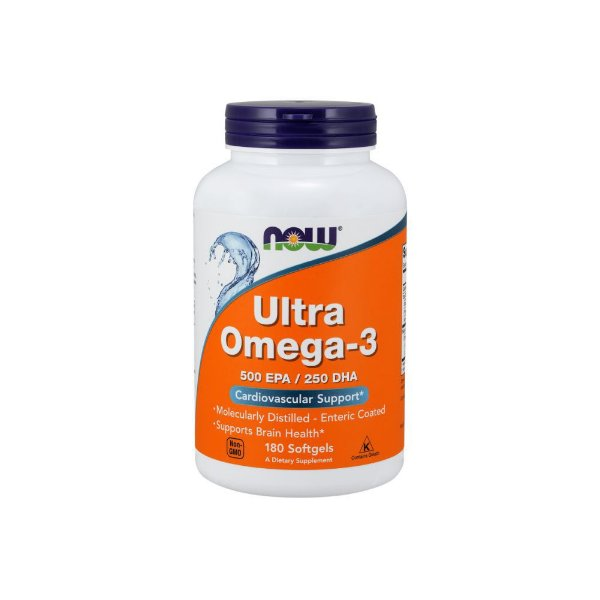 Ultra Omega 500EPA/250DHA 180 Caps -  Now