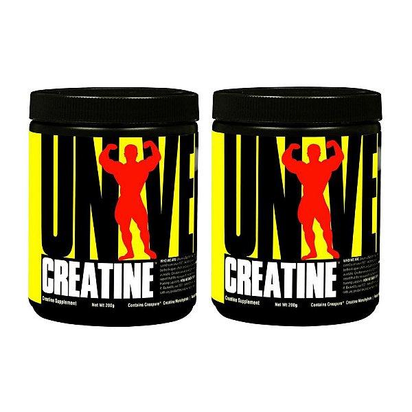 Creatina Monoidratada  200+200g - Universal Nutrition