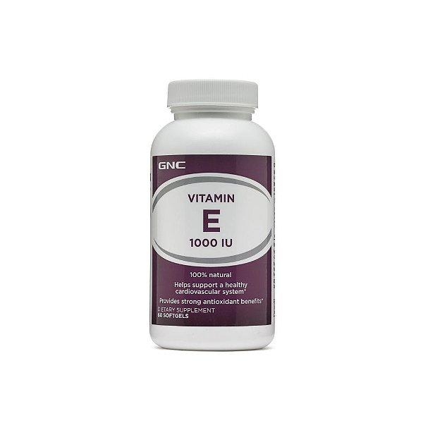 Vitamina E 1000ui 60 Caps - GNC