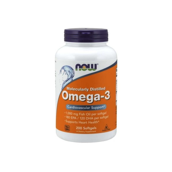 Omega 3 180EPA/120DHA 1000mg 200 Caps -  Now