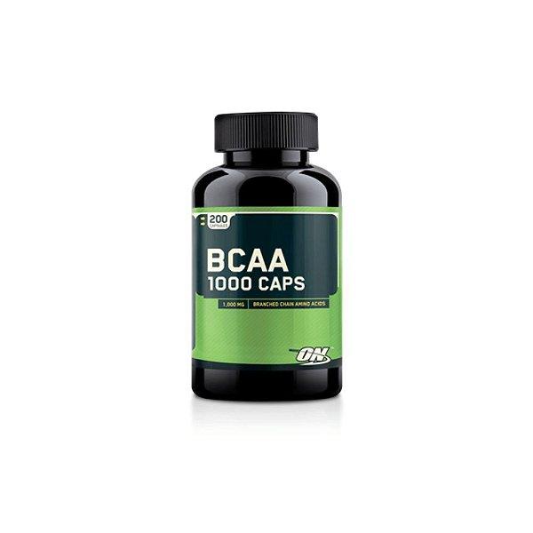 Bcaa  1000mg 200 Caps - Optimum Nutrition