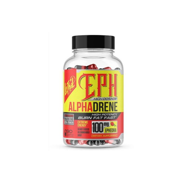 Termogênico EPH Alpha Drene 100 90 Caps -  Lethal Supplements