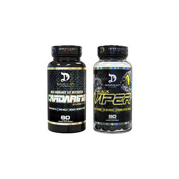Combo  Cardarine + Black Viper - Dragon Pharma