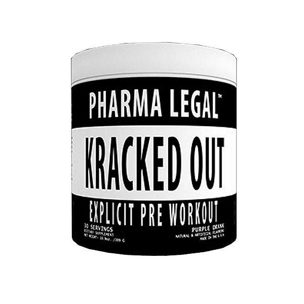 Pré-Treino Kracked out 30 Doses - Pharma Legal