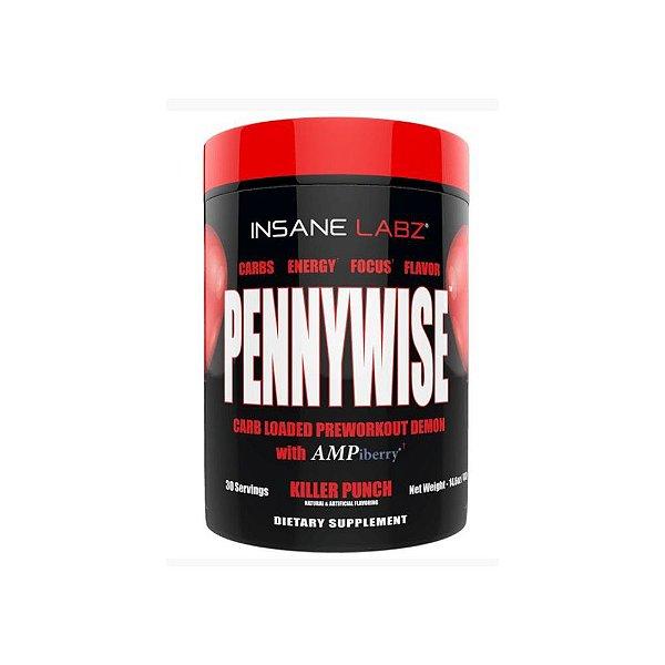 Pré-Treino Pennywise 413g 30 doses -  Insane Labz